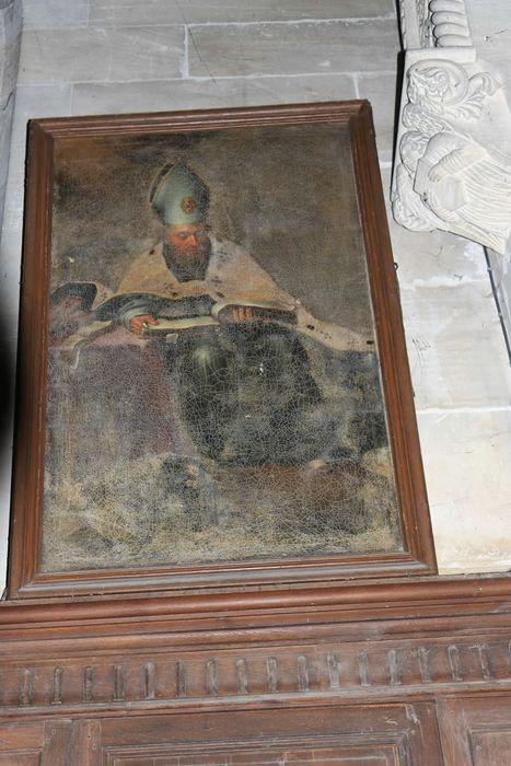 Tableau : Evêque (Saint Augustin ?)
