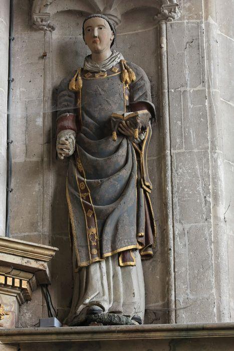 Deux statues : Saint Gervais, Saint Protais