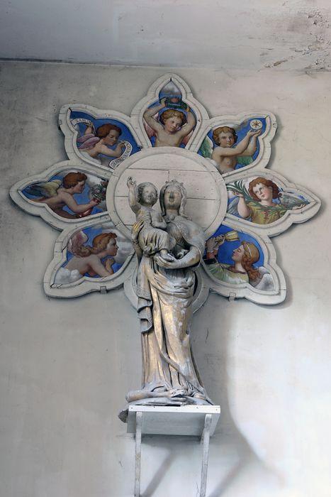 statue : Vierge à l'enfant dite la Vierge dorée