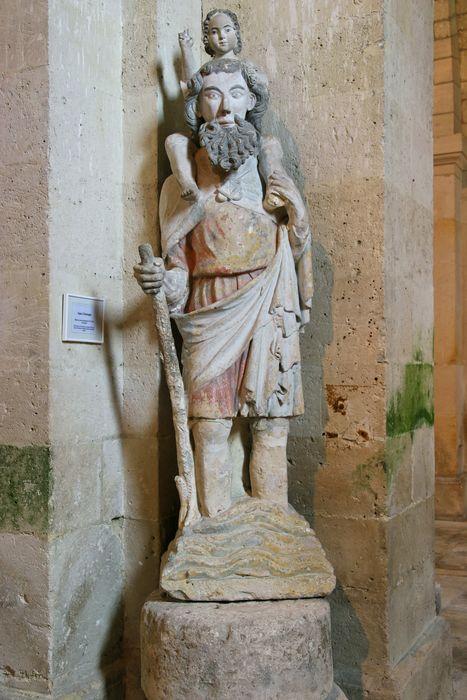 Statue : Saint Christophe