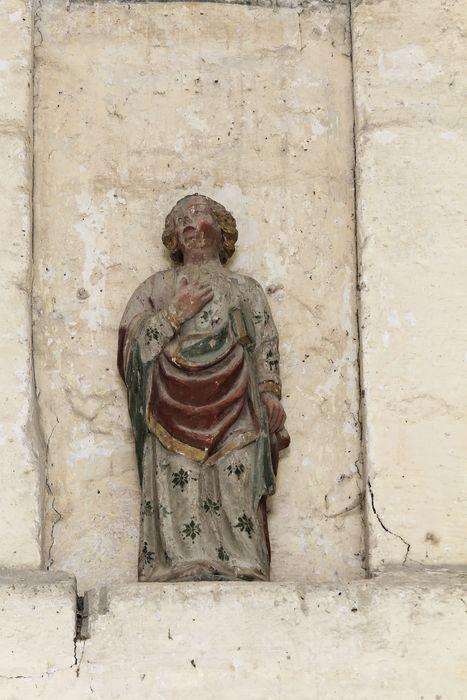 Statue de l'ancienne poutre de gloire : Saint Jean