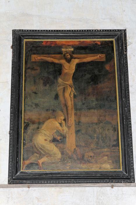 Tableau : Sainte Madeleine au pied de la croix