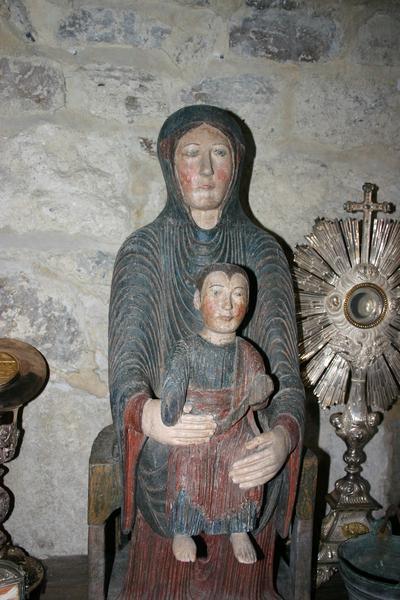 Statue : Vierge en majesté