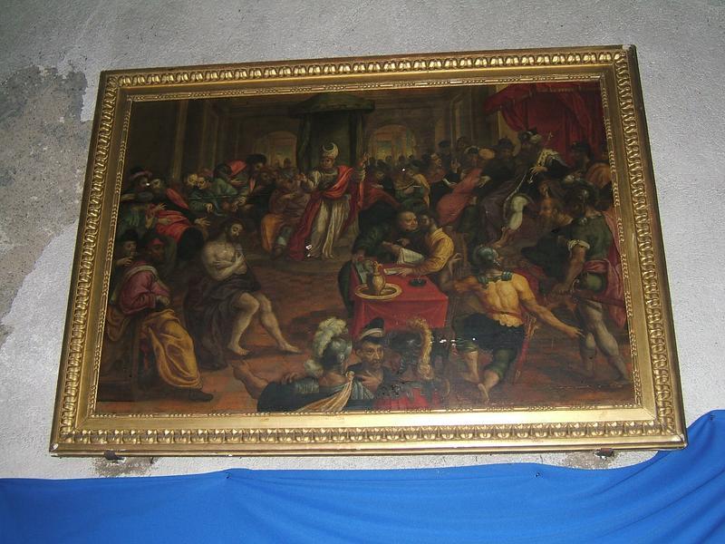 Tableau : Christ devant Pilate (le)