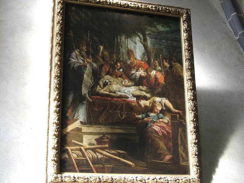 Tableau : La Découverte des corps de saint Gervais et saint Protais