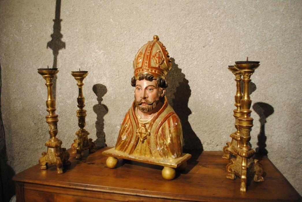 buste-reliquaire : Saint Ebons