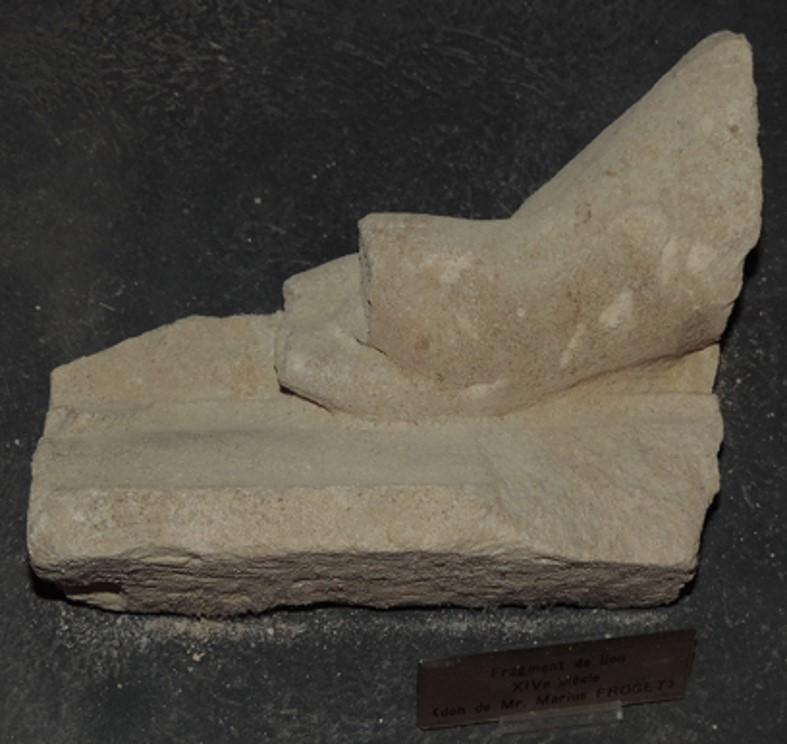 fragment de haut-relief