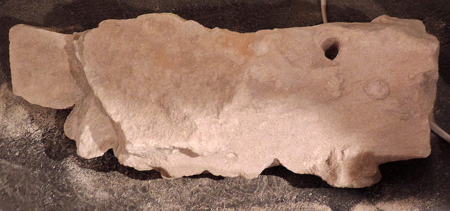 fragment de sculpture n°6