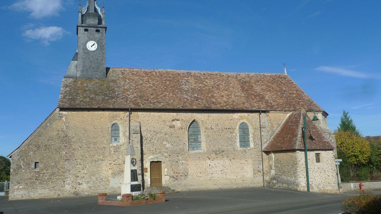 Eglise Saint-Pierre: Façade latérale sud, vue générale
