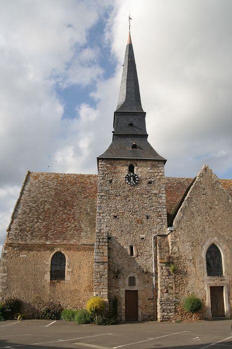 Eglise Saint-Pierre: Façade latérale sud, vue partielle