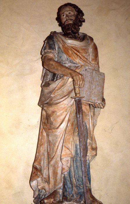 Deux statues : Saint Pierre et Saint Paul