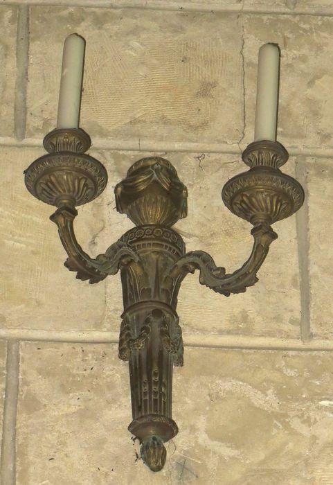 2 luminaires d'applique (appliques de lumière)