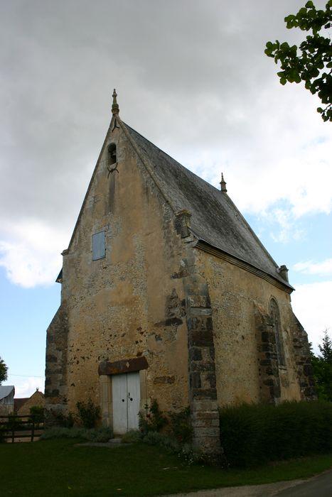 Chapelle Notre-Dame-de-l'Habit: Ensemble sud-ouest, vue générale