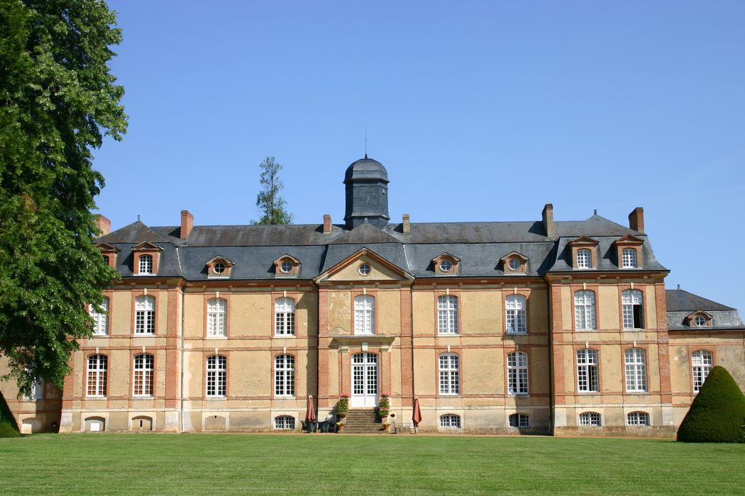 Château de Lauresse: Façade sud, vue générale