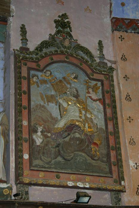 Deux bas-reliefs : Apothéose de saint Martin et Sacrifice d'Abraham