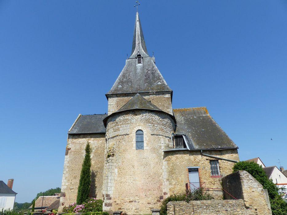 EgliseSaint-Martin : Chevet, vue générale