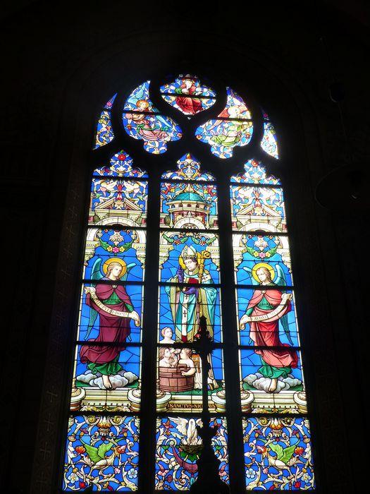 Verrière : Saint Nicolas