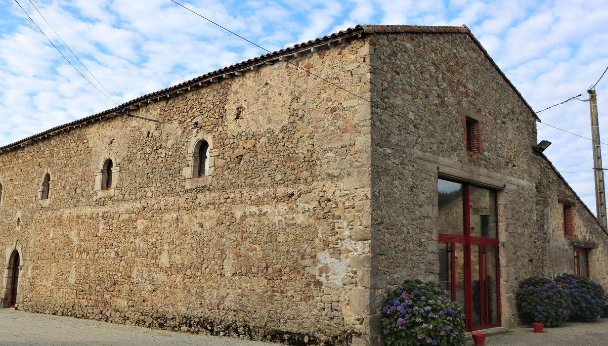 Logis de la Gautronnière: façade sud, vue partielle