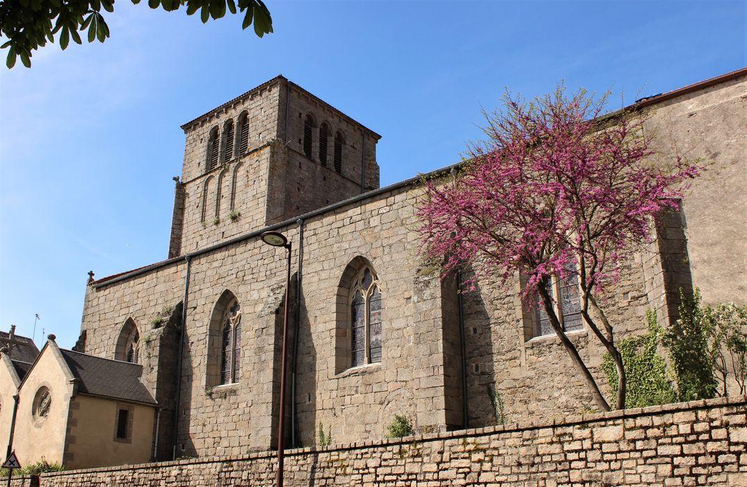 Eglise, façade latérale sud, vue générale