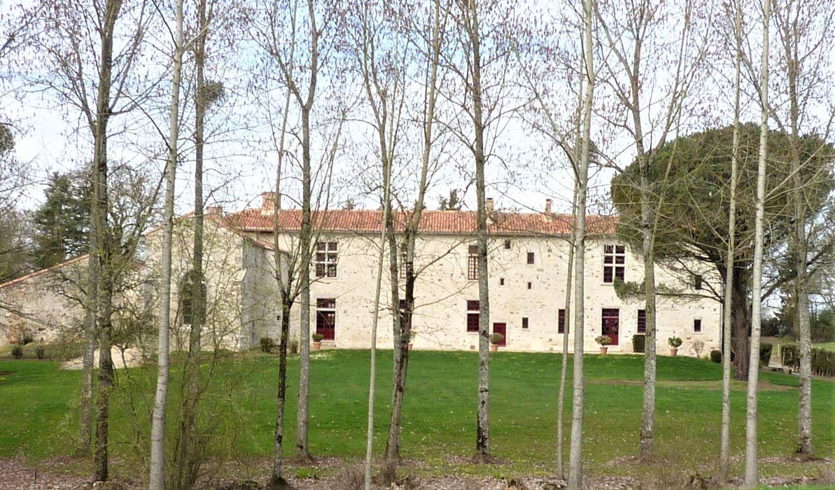 Bâtiments du Gué, façade sud-est, vue générale