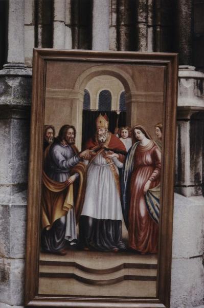 Tableau : Mariage de la Vierge