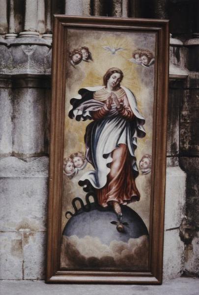 Tableau : Vierge immaculée