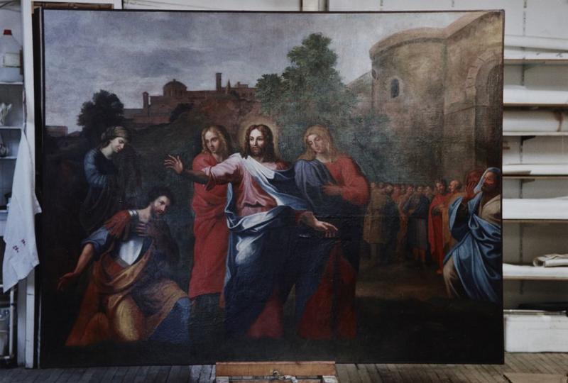 Tableau : Christ et le centurion