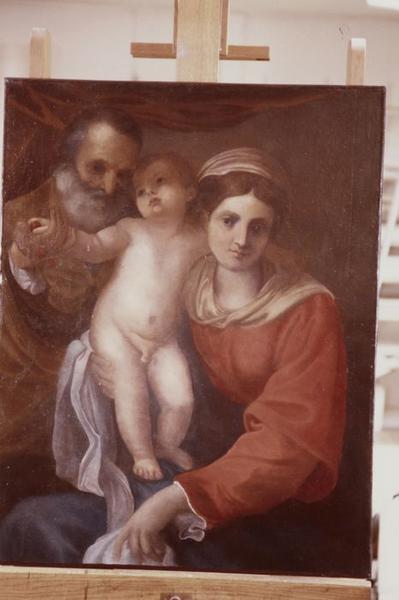 Tableau : Sainte Famille dite Vierge aux cerises