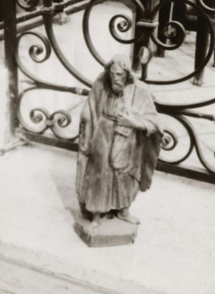 Statuette : Saint au livre