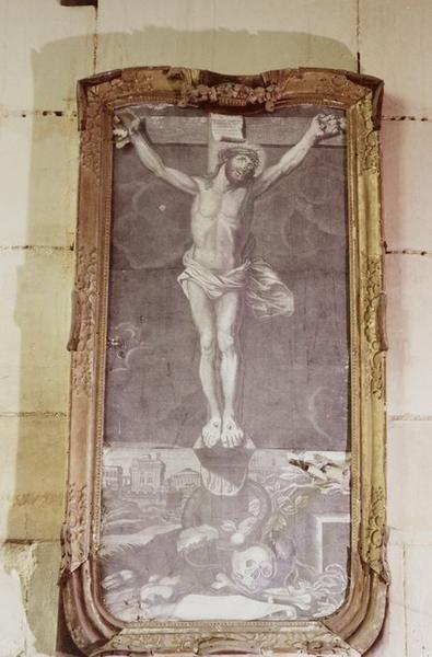 Estampe : Christ en croix
