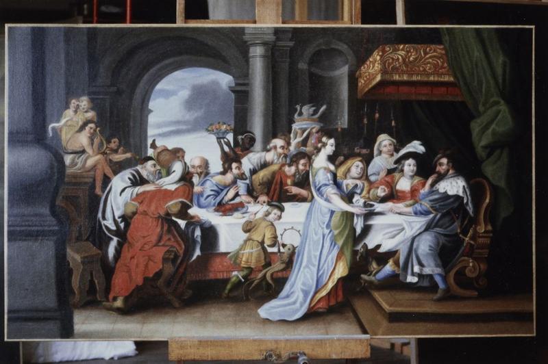 Tableau : Banquet d'Hérode