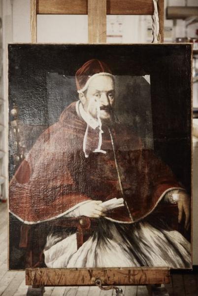 Tableau : Portrait du pape Innocent X