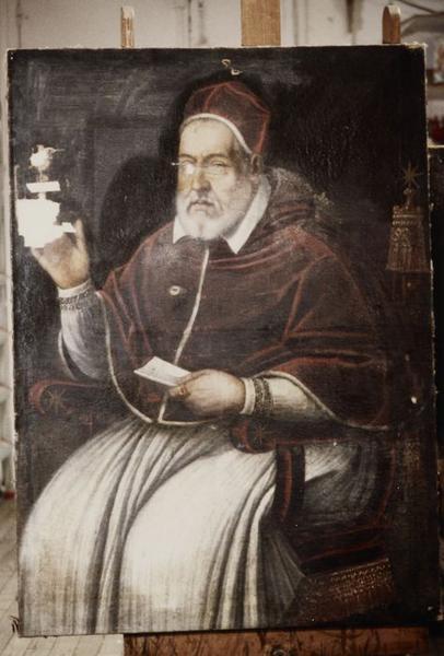Tableau : Portrait du pape Urbain VIII