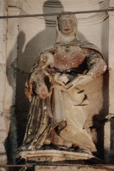 Statue : Education de la Vierge