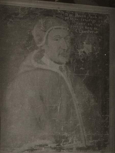 tableau : Portrait de Pierre Roger (Clément VI)