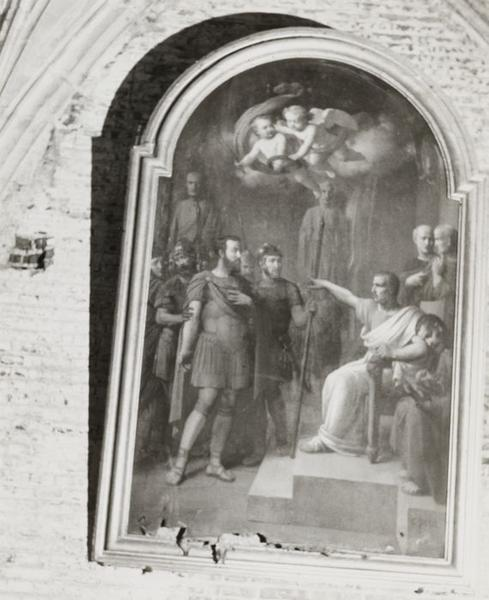 Tableau : Saint Ferréol devant le proconsul Cripius