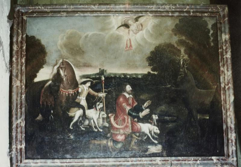 Tableau : Saint Hubert
