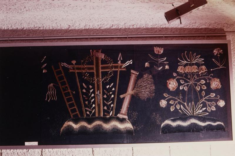 Fragment de devant d'autel