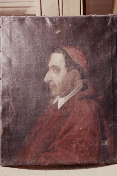 Tableau : Portrait d'un cardinal
