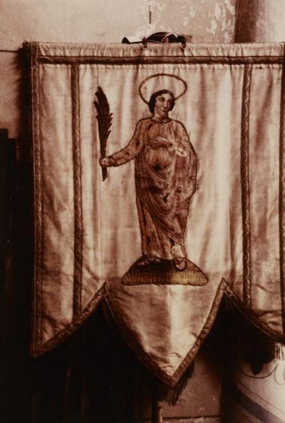 Bannière de procession : Saint Symphorien