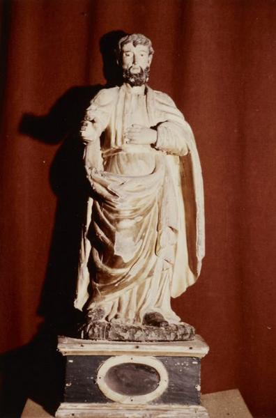 Deux statuettes : Vierge à l'enfant et saint Joseph