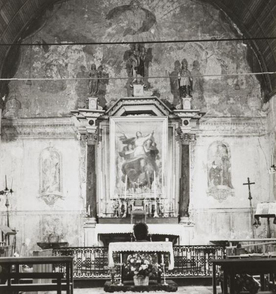 Retable ; tabernacle