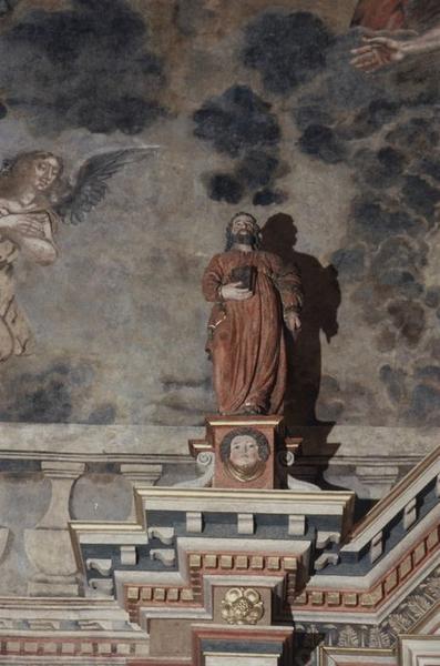 Statue : Saint au livre