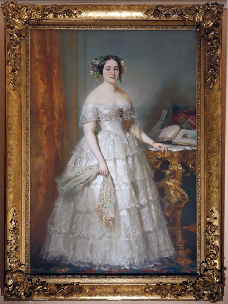 tableau : Portrait de la princesse Mathilde