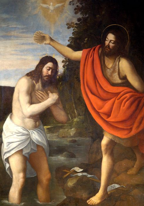 Tableau : Baptême du Christ