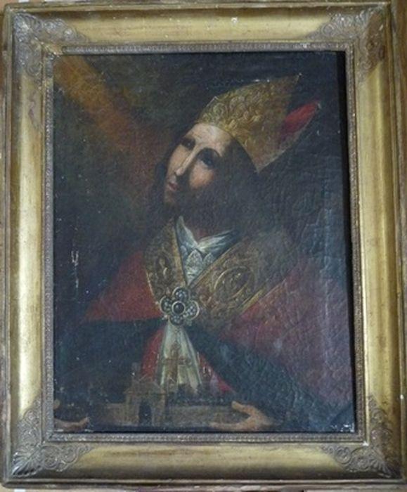 Tableau, cadre : Monseigneur François Citadella