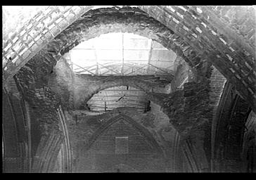 Voûtes crevées de la croisée du transept