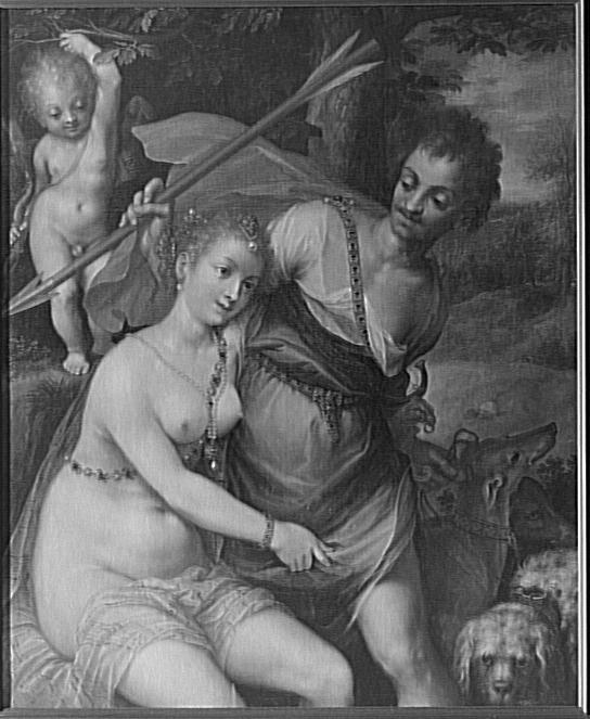 Vénus, Adonis et l'Amour_0
