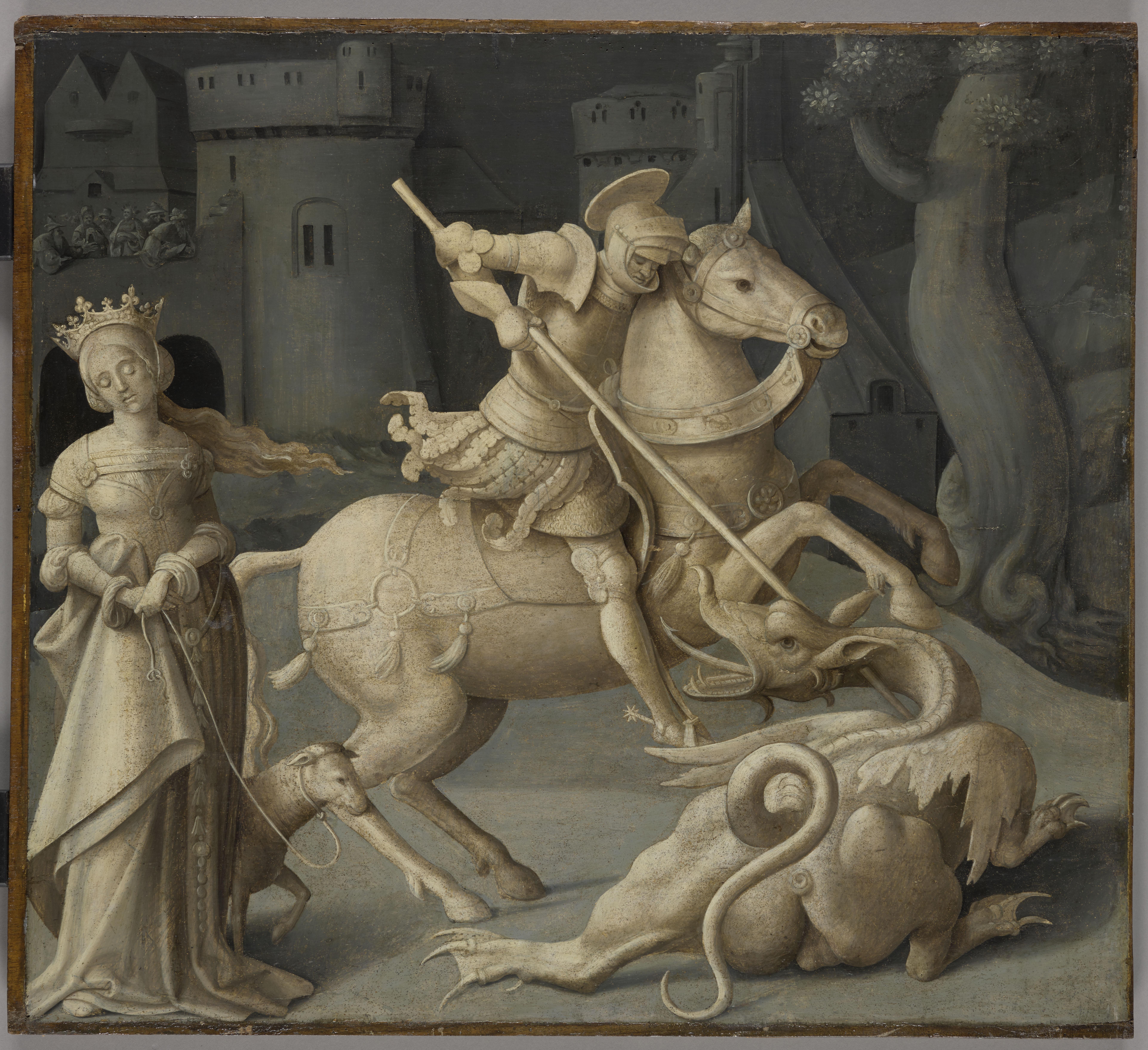 Saint Georges terrassant le dragon_0