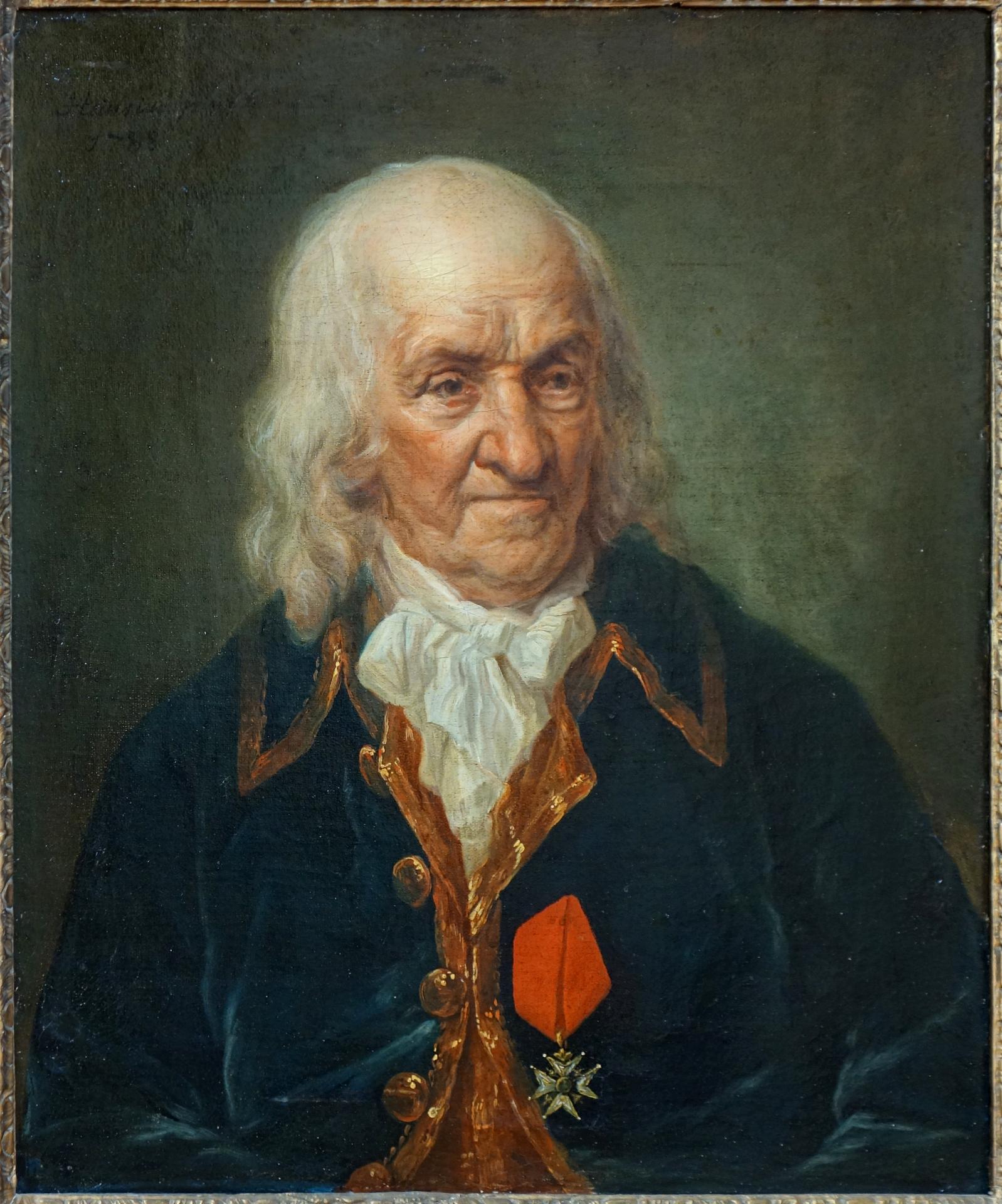 Portrait de vieillard décoré d'une croix du Saint-Esprit_0
